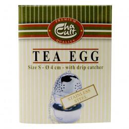 Boule à thé et support pour 1 tasse 4cm