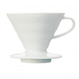 Dripper filtration en céramique blanche 1 à 4 tasses
