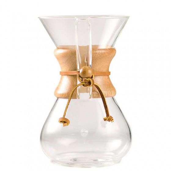 Cafetière filtration Chemex 8 tasses