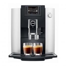 Robot café JURA E6 Platine et 3 paquets de 250g de café en grains et 2 verres expresso Cafés Richard 8cl offerts