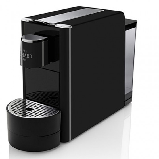 Machine Ventura noire pour Capsules Premium Cafés Richard et 1 étui de 24 capsules premium n°8