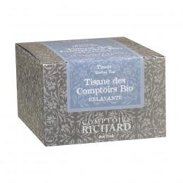 Tisane des Comptoirs Bio Comptoirs Richard x15 sachets voiles suremballés