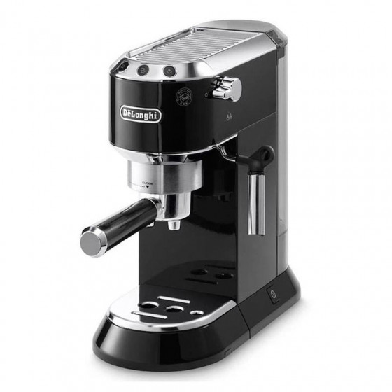 Robot café Delonghi Dedica EC695 N + 1 boîte de 25 Pods E.S.E Perle noire offerte