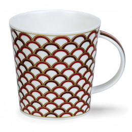 Mug Dunoon porcelaine fine Cairngorm Medina rouge 48cl