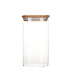 Boîte hermétique en verre et bambou 1.4L