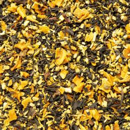 Thé noir aromatisé bio Trois Gingembres vrac