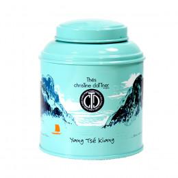 """Thé vert vrac aromatisé """"Yang Tse Kiang"""" boite collection laquée 100g"""