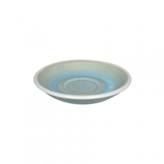 Soucoupe expresso Barista Egg bleu irisé 11.5CM