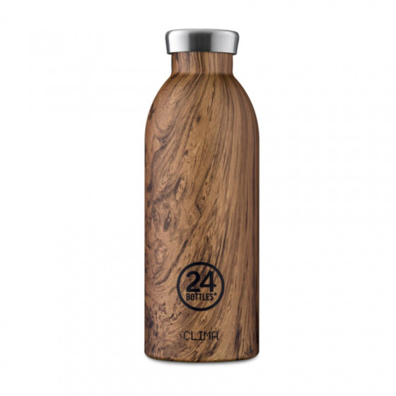Bouteille isotherme sequoia wood 50cl