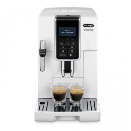 Robot café De'Longhi Dinamica FEB3535.W et 2 paquets de 250g de café en grains et 6 verres à café 9cl offerts