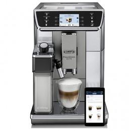 Robot café De'Longhi 650.55.MS et 3 paquets de 250g de café en grains et 2 verres expresso Cafés Richard 8cl