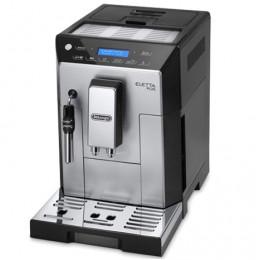 Robot café Delonghi Eletta Plus et 2 paquets de 250g de café en grains et 6 verres à café 9cl offerts
