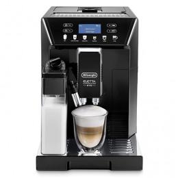 Robot café De'Longhi Eletta Cappuccino 46.860B et 2 paquets de 250g de café en grains et 6 verres à café 9cl offerts