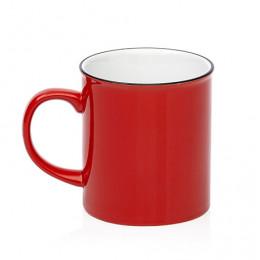 Grand Mug vintage rouge 70cl