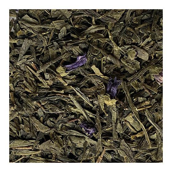 Thé vert aromatisé Parfum violette vrac