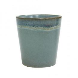 Mug en grès Moss bleu vert 18cl