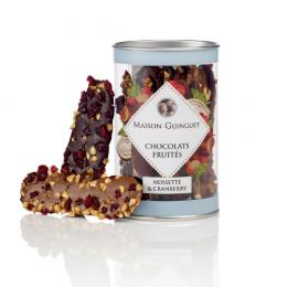 Mendiants noisettes et cranberries assortis Maison Guinguet 100g