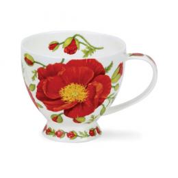 Mug Skye Papaver motif coquelicot 42cl