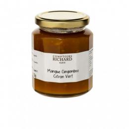 Confiture à la mangue, au gingembre et au citron 320g
