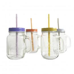 Mug Mason Jar couleur 45,5cl