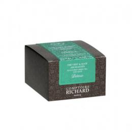 Thé vert maté aromatisé Détox x15 sachets voiles suremballés