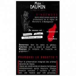 Dosettes de gingembre Max Daumin
