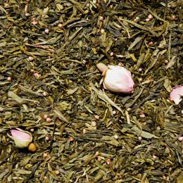 """Thé vert aromatisé """"Thé des Amours"""" vrac"""